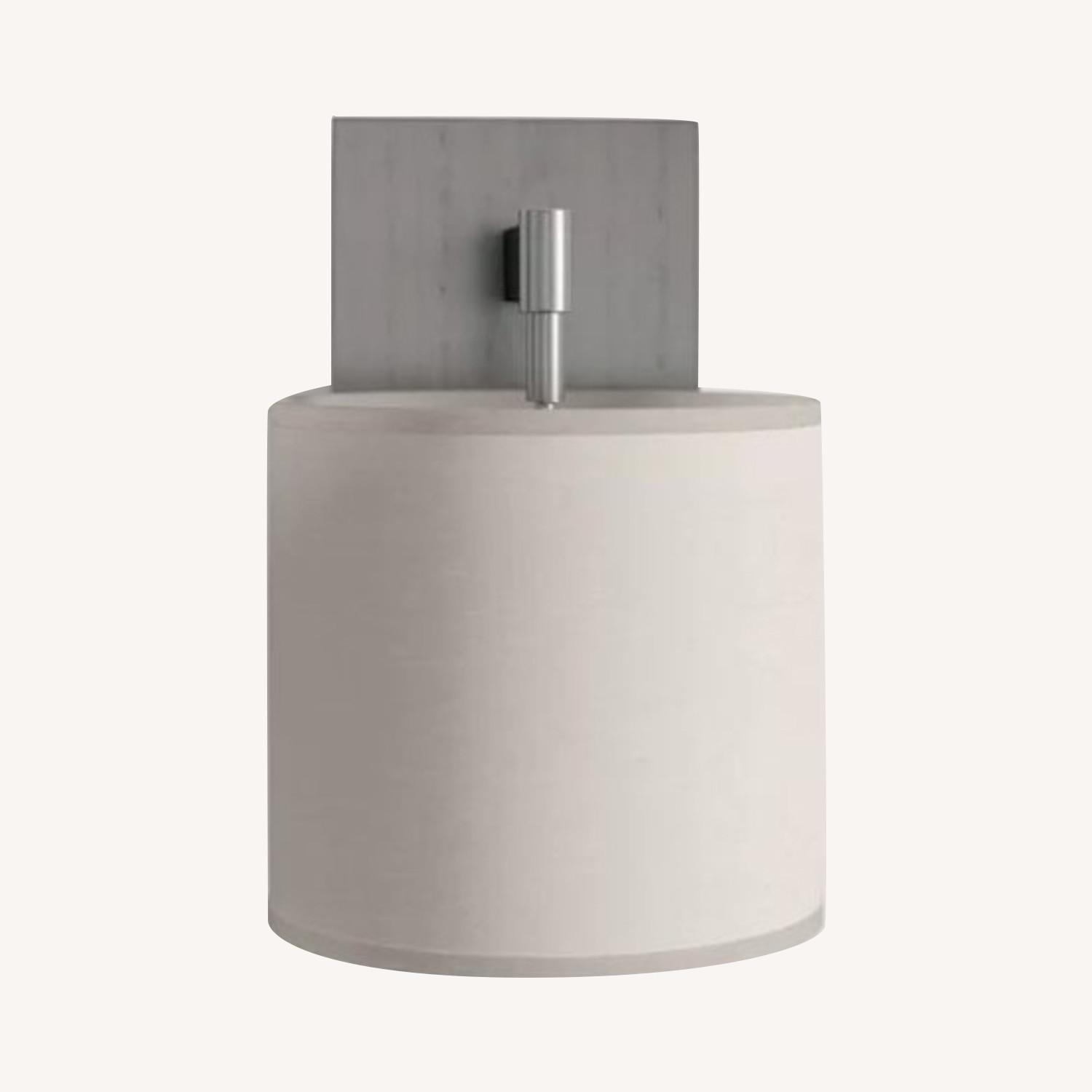 Plug In Wall Sconce Stainless Steel finish