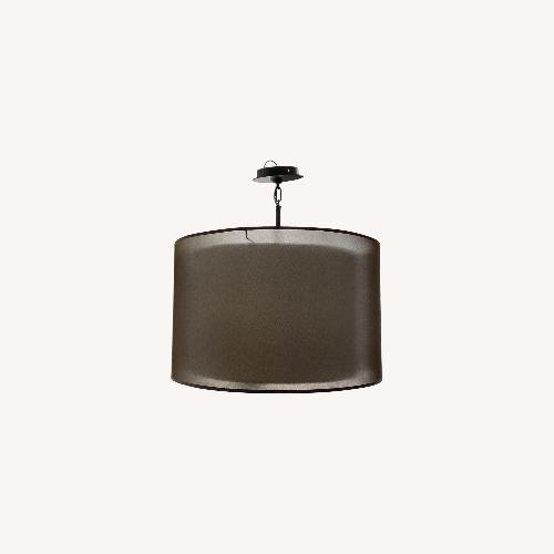 Used Luminaire Drum Chandelier for sale on AptDeco