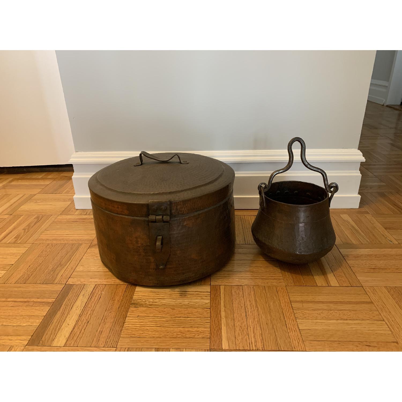 Decorative Copper Pots - image-1