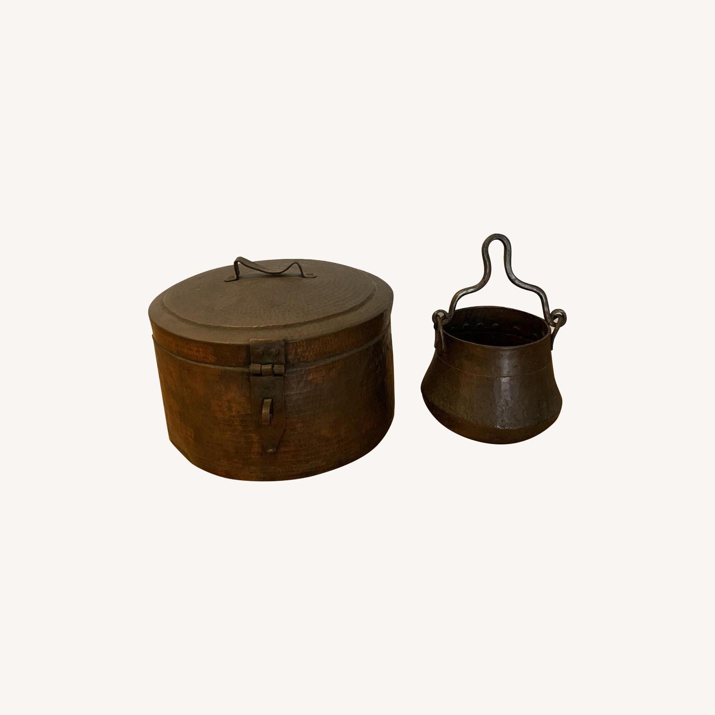 Decorative Copper Pots - image-0