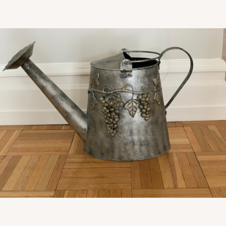 Metallic Plant Watering Can - image-1