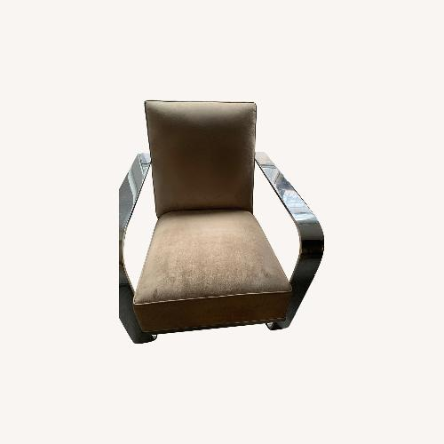 Used Ralph Lauren suede chairs for sale on AptDeco