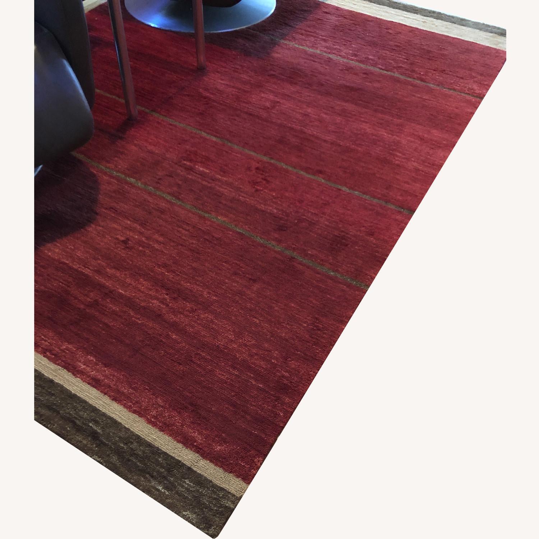 Tufenkian - Designer Reserve - Loop Stripe Ruby 6x9 - image-0