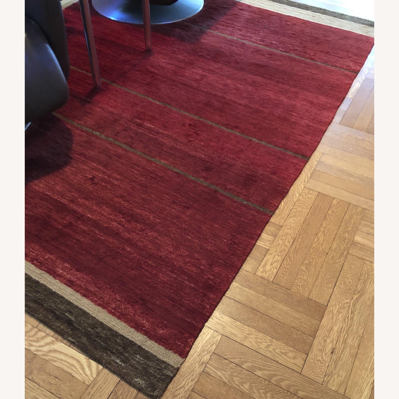 Tufenkian - Designer Reserve - Loop Stripe Ruby 6x9 - image-1