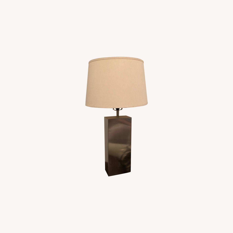 Table Lamp Nickel Base (Set of 2)