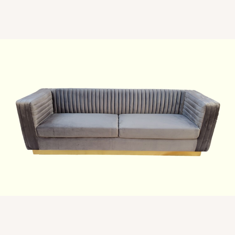Brooklyn Space Eloquence Mid-Century Modern Sofa