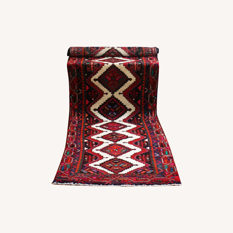 Colorful Persian Wool Runner Rug - image-0