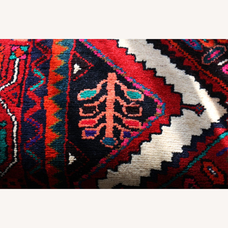 Colorful Persian Wool Runner Rug