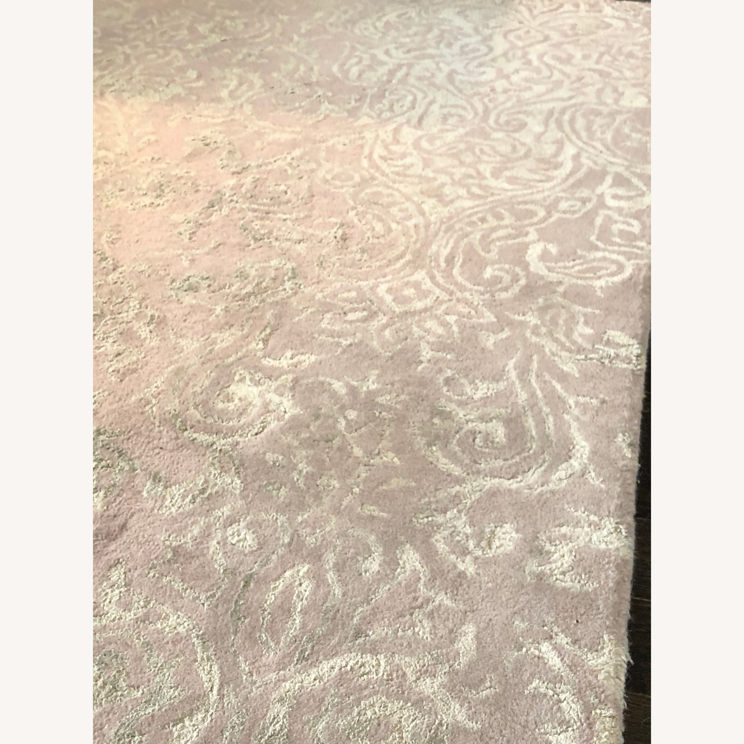 Candice Olson Lovely Damask Green/Grey Area Rug