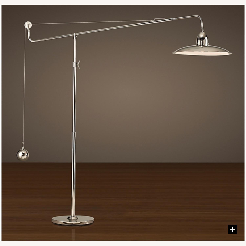 1940S ARCHITECT'S BOOM FLOOR LAMP