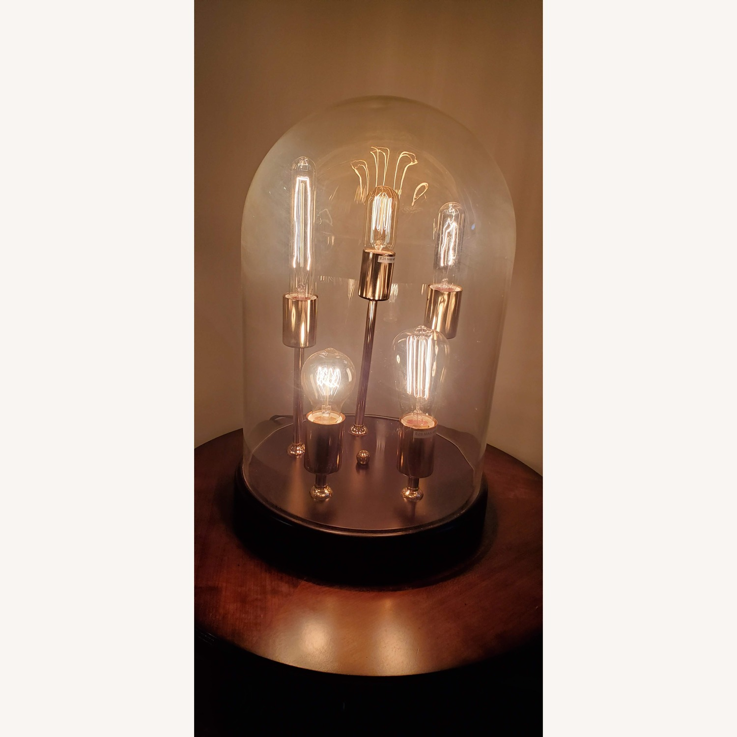 Industrial Edison bulbs table lamp