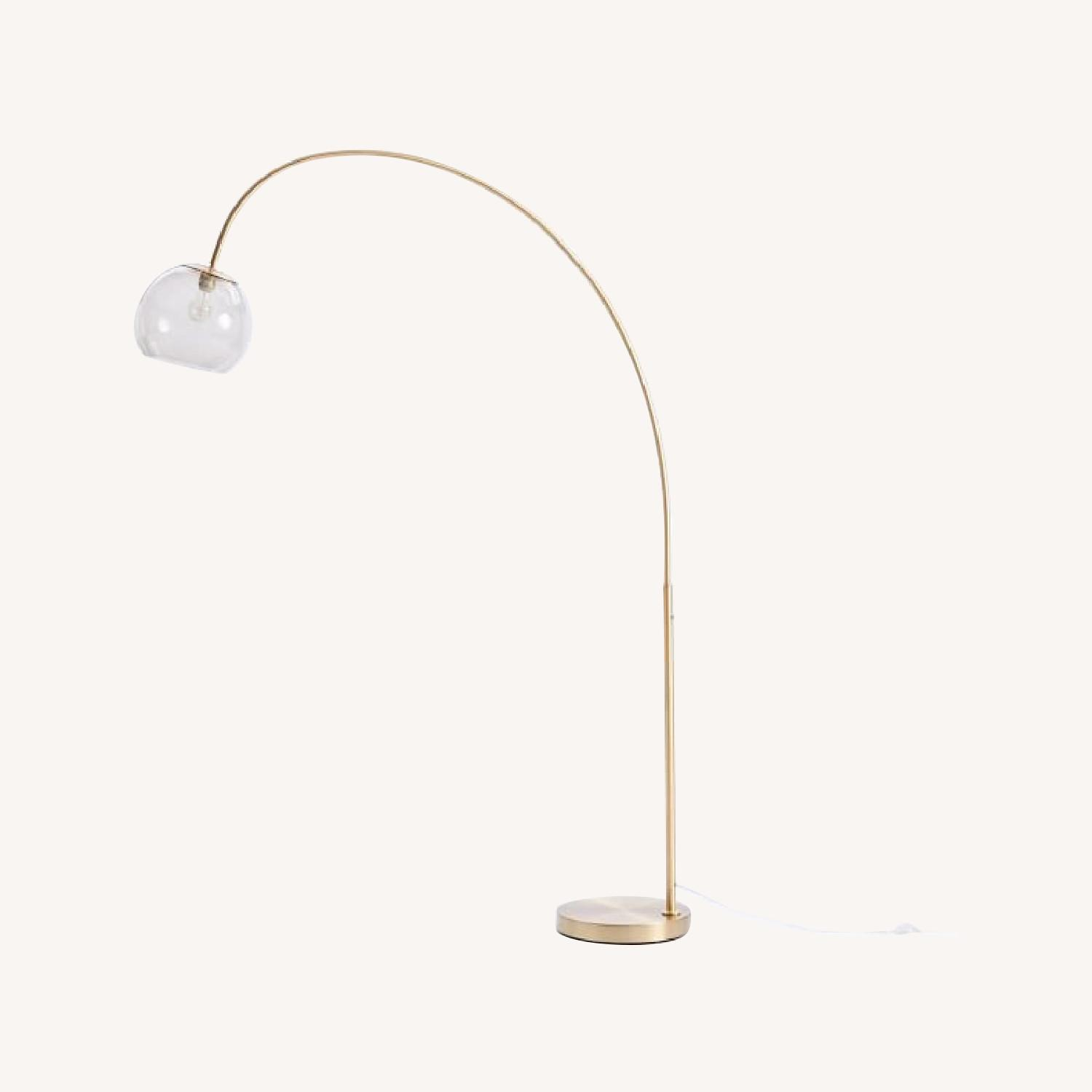Overarching Acrylic Shade Floor Lamp - image-2