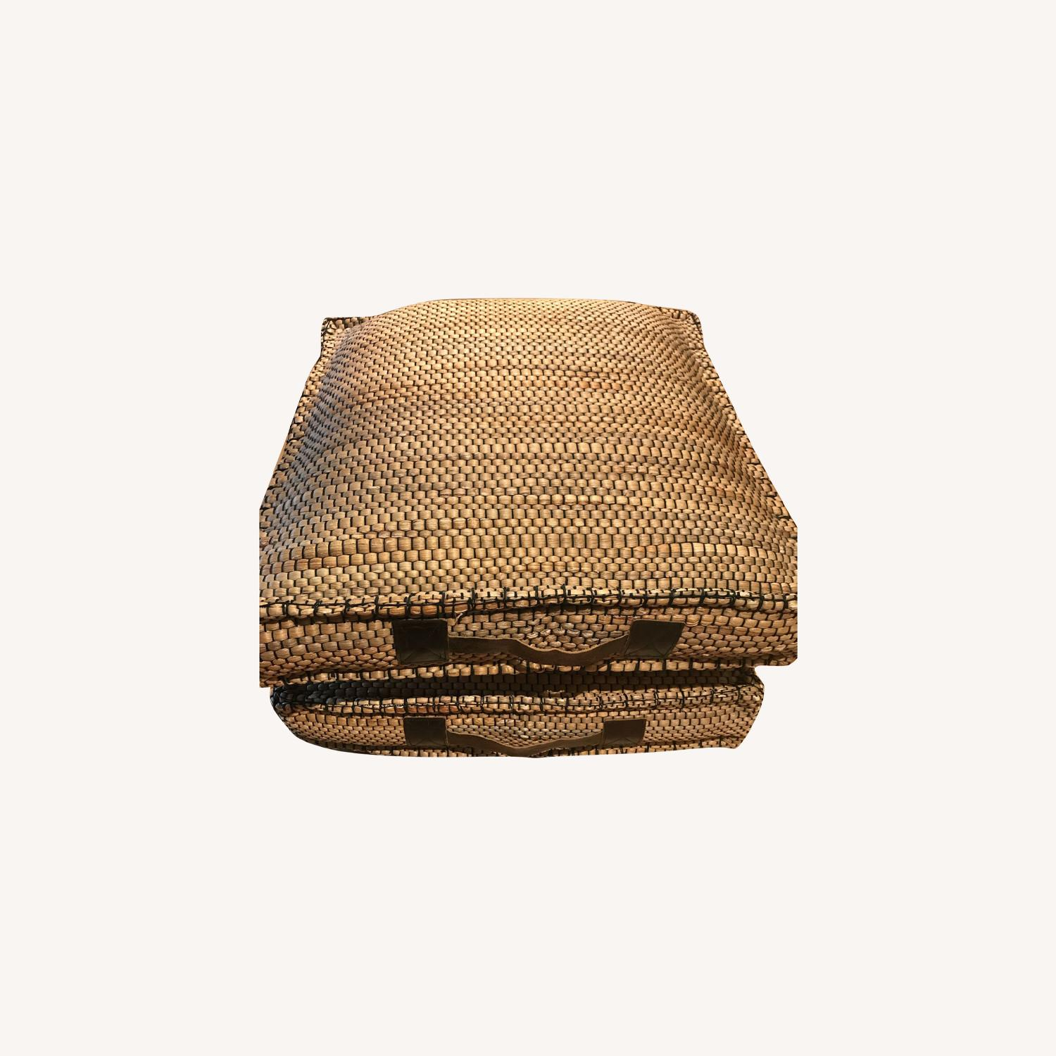 Rattan Cushions for Sitting or Resting