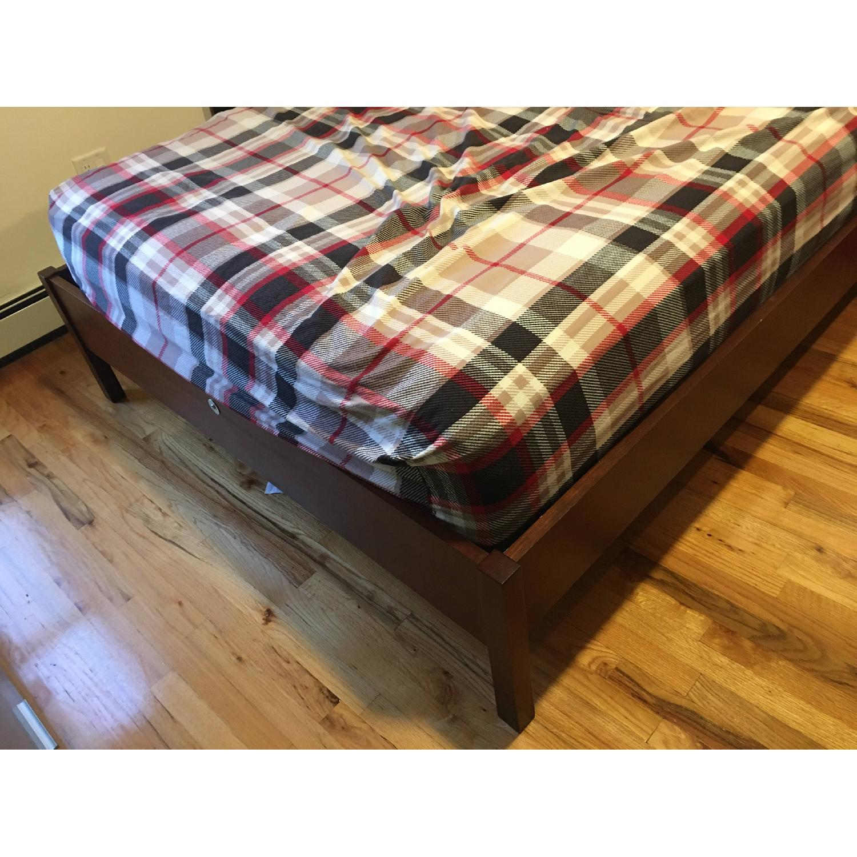 Queen Bed with Wooden Headboard - image-3
