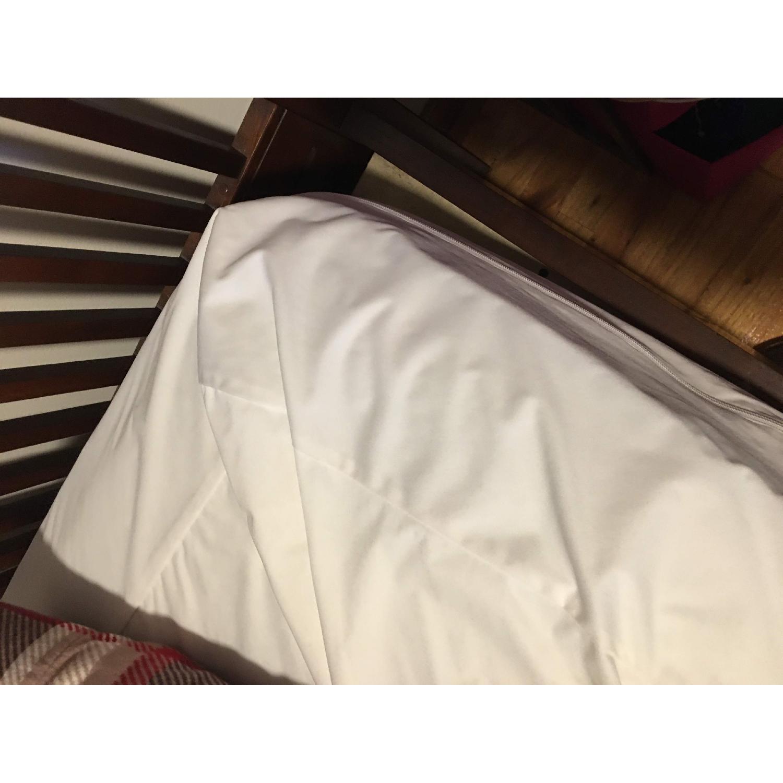 Queen Bed with Wooden Headboard - image-4