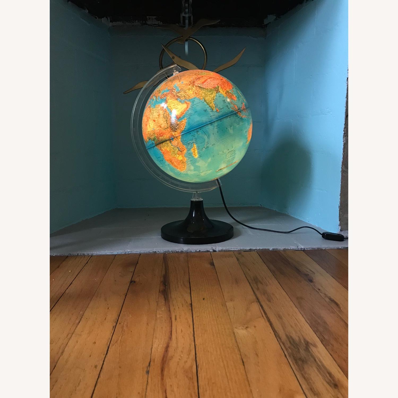 Vintage Globe with light - image-0