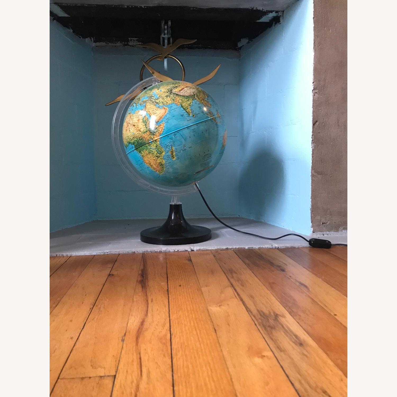 Vintage Globe with light - image-1
