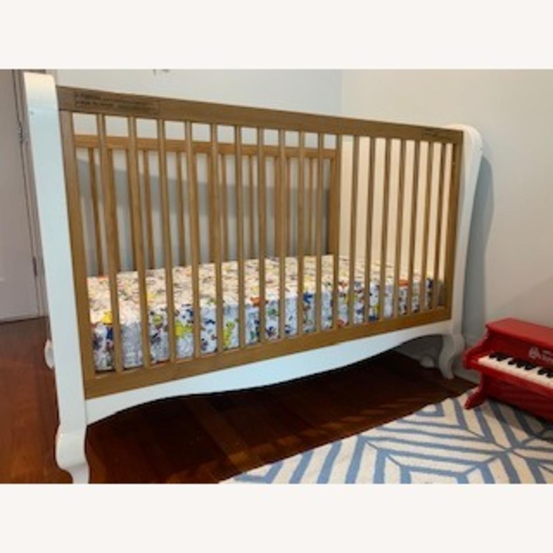 Modern Nursery Convertible Crib - image-2