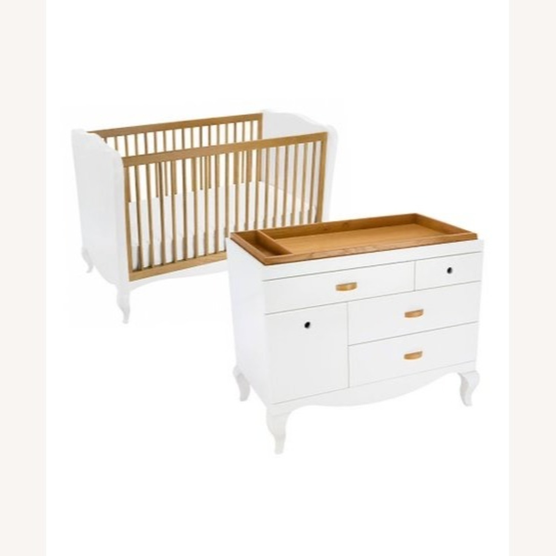 Modern Nursery Convertible Crib - image-1
