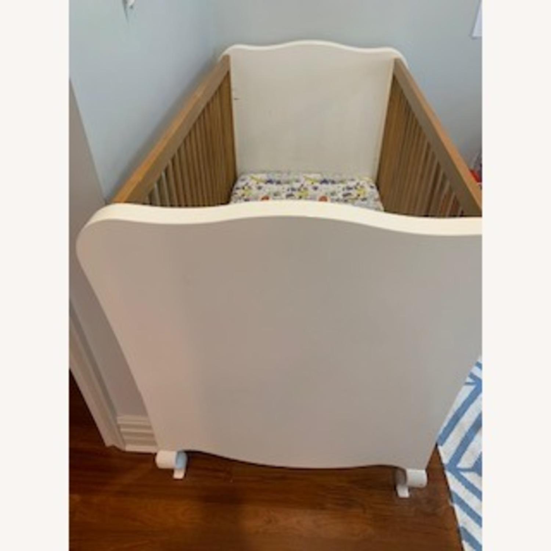 Modern Nursery Convertible Crib - image-3