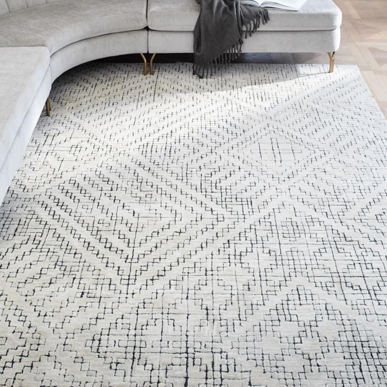 West Elm Stone Tile Rug - image-3