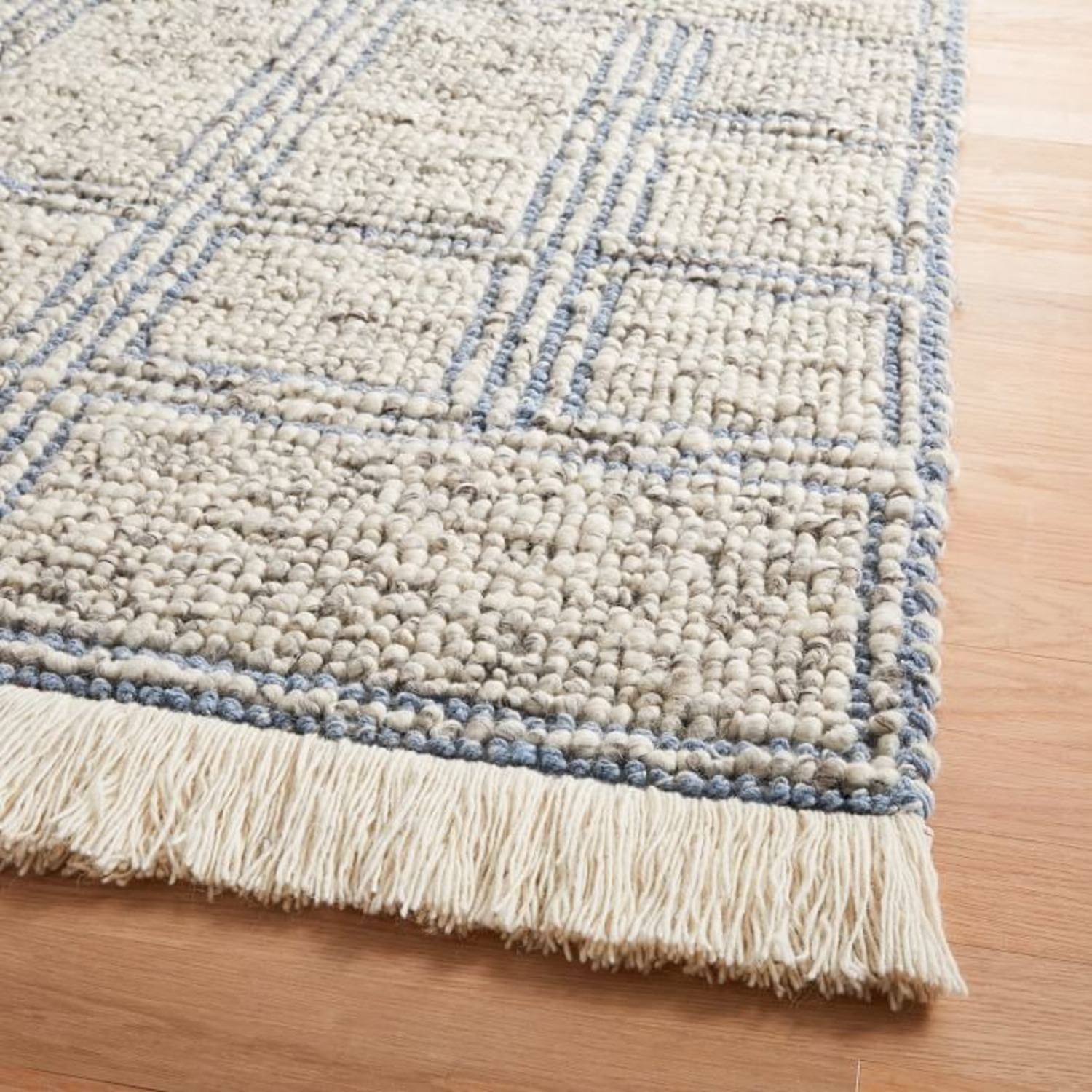 West Elm Stacked Squares Rug