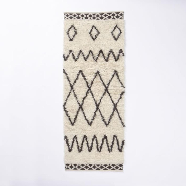 West Elm Kasbah Wool Rug - image-1