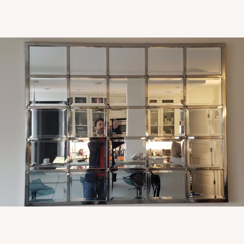 Pottery Barn Eagan multipanel mirror - image-1