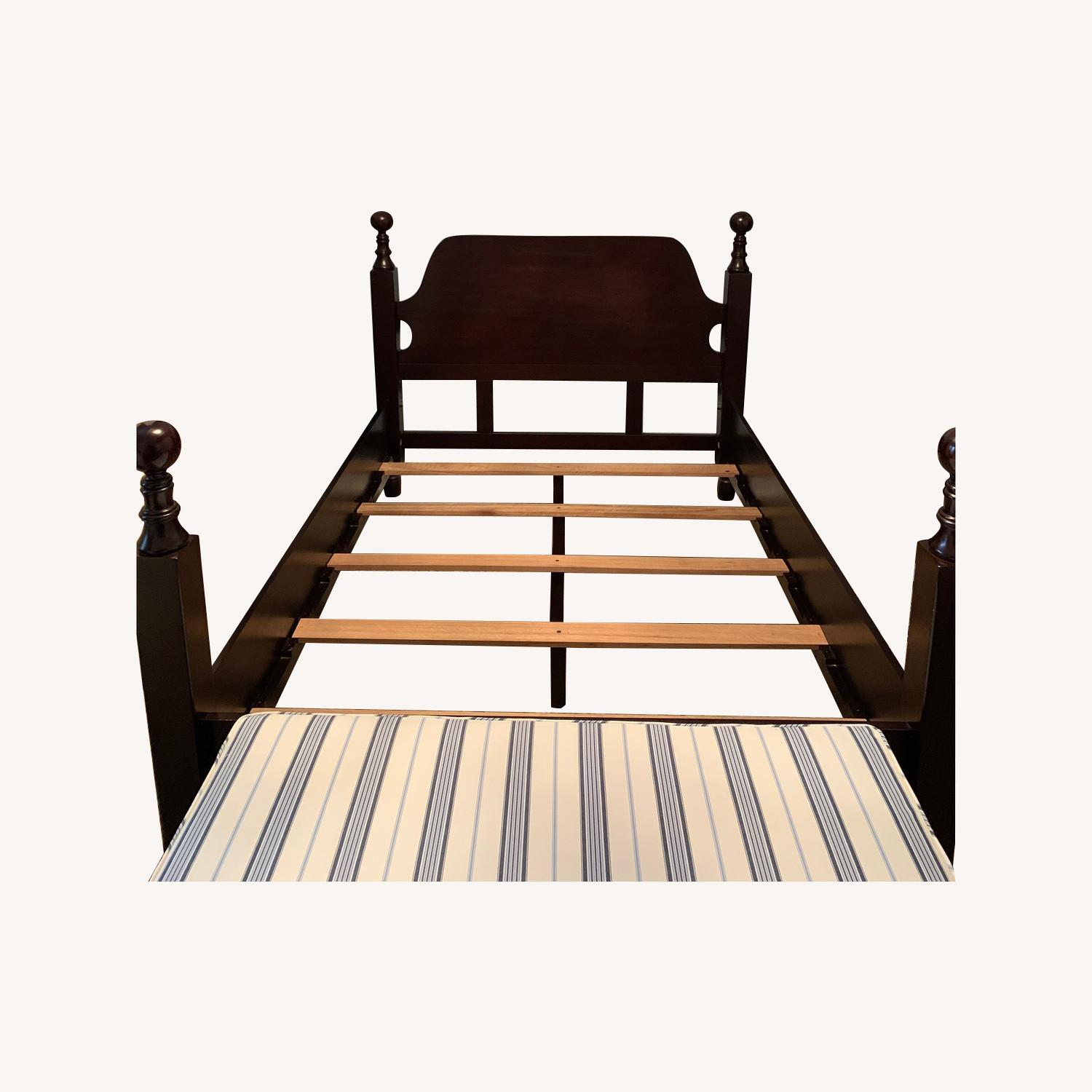 Pottery Barn Queen Hudson Sleigh Bed - image-4