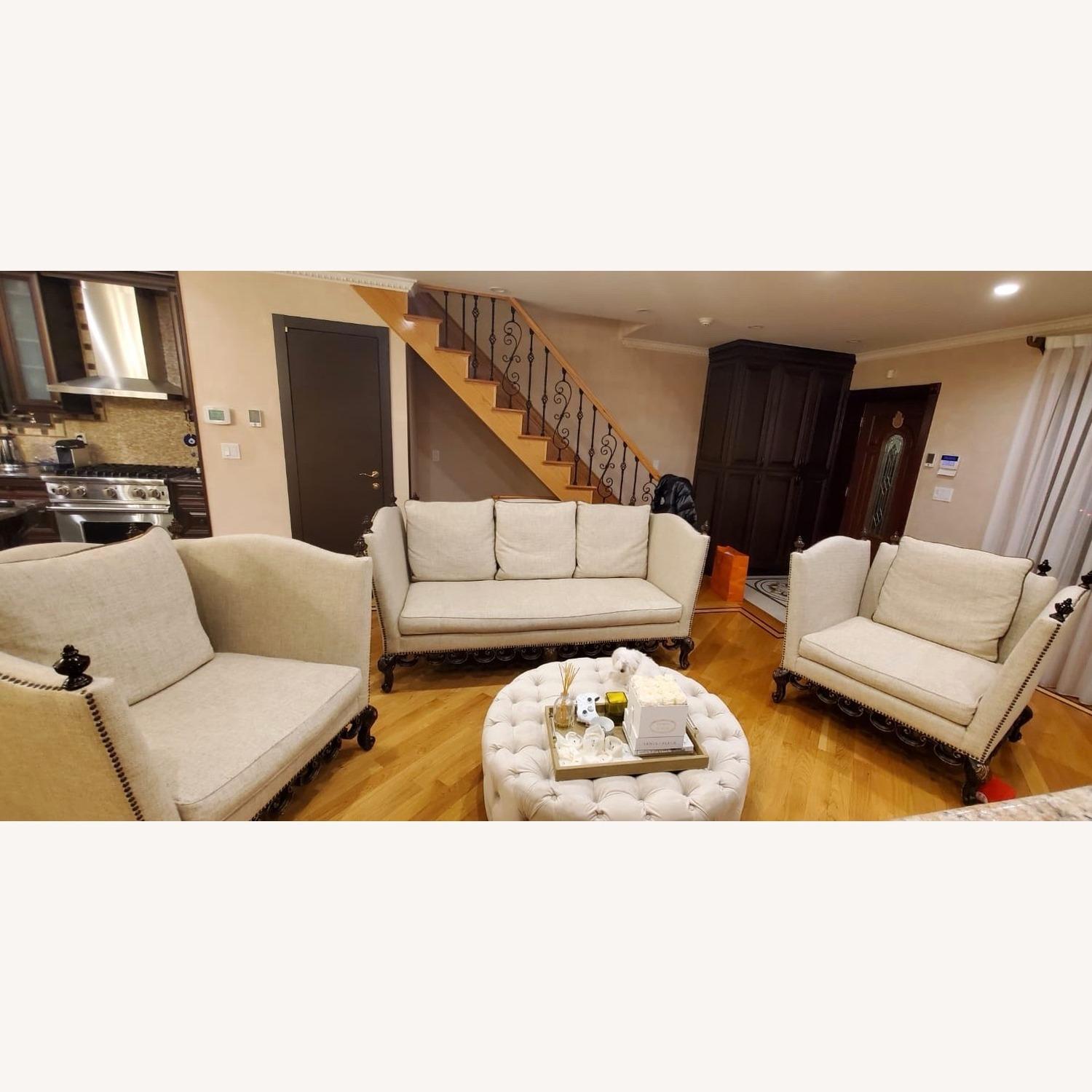 Contemporary 3 piece sofa - image-1