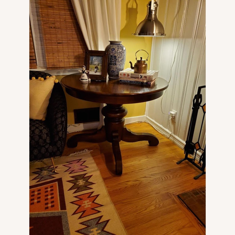 Pottery Barn Tivoli Round Dining Table - image-1