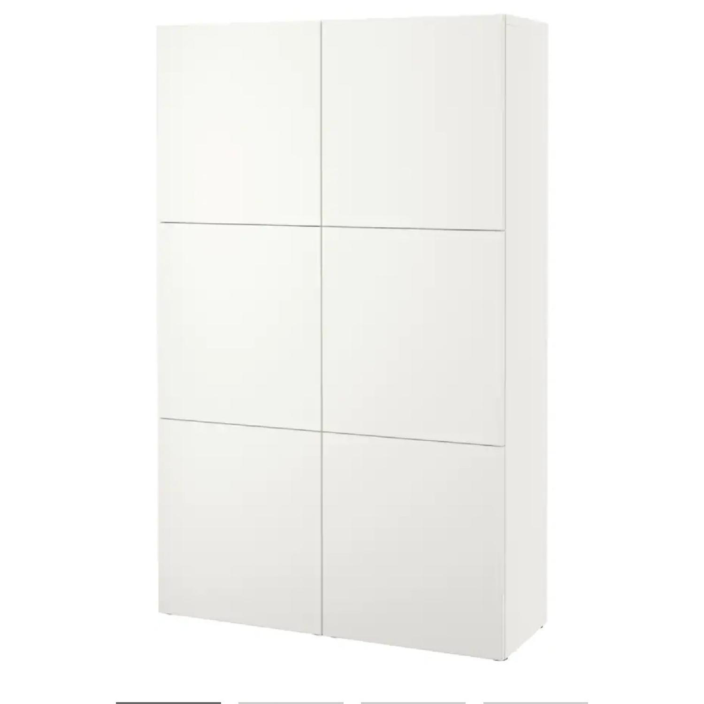 Ikea Glossy Media Wall Storage Unit - image-4