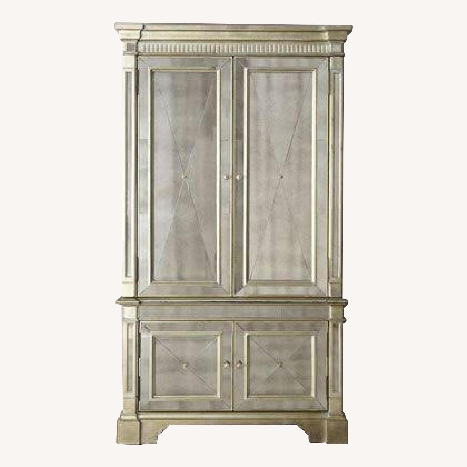 Horchow Mirrored Armoire