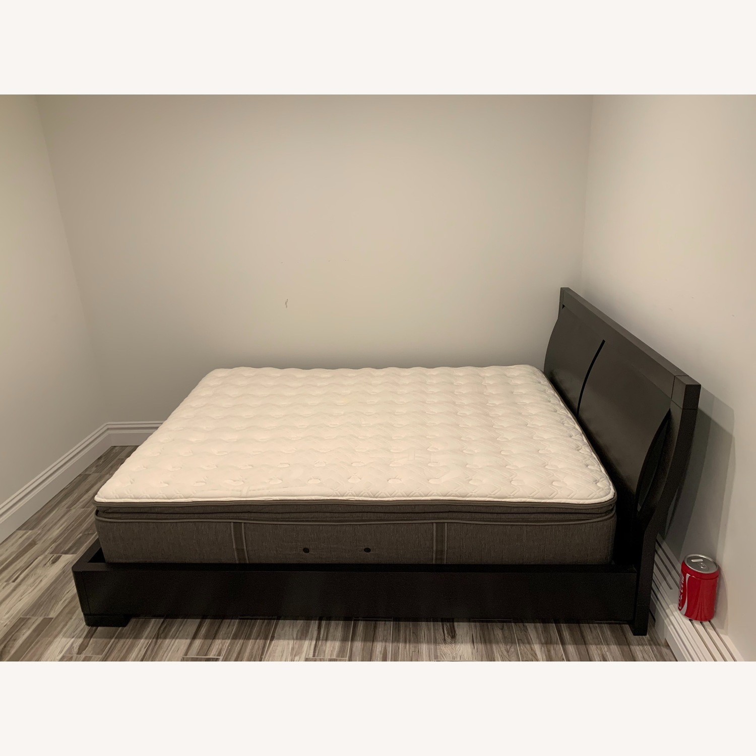 Stearns & Foster King Bed