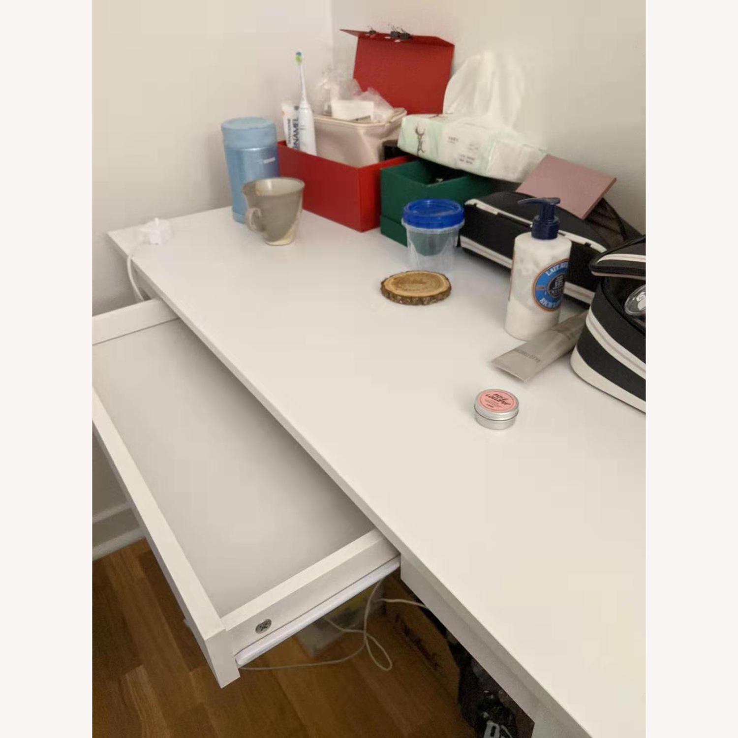 Office Desk with Drawer - image-2