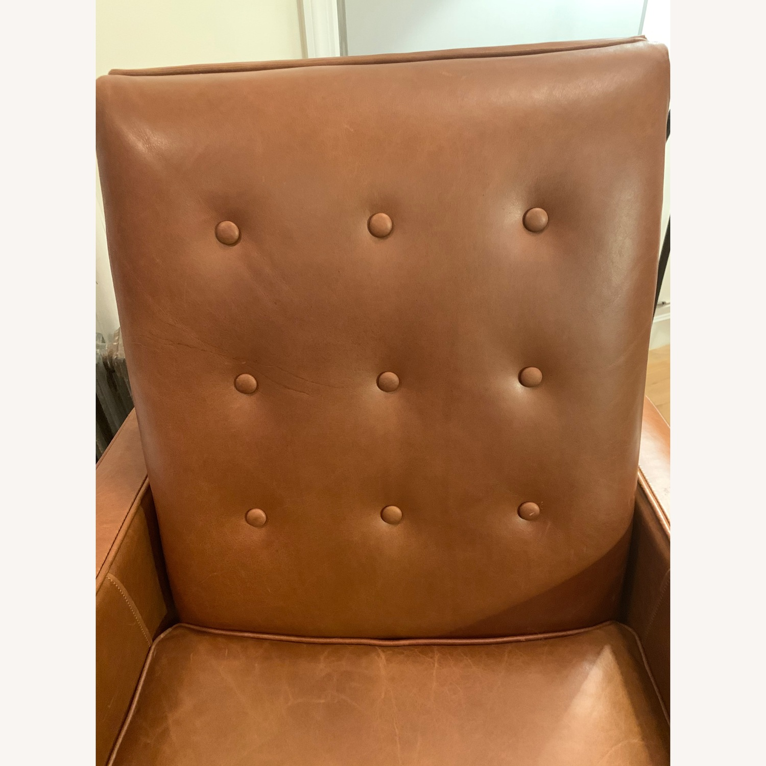 West Elm Rhys Mid-Century Leather Recliner - image-5