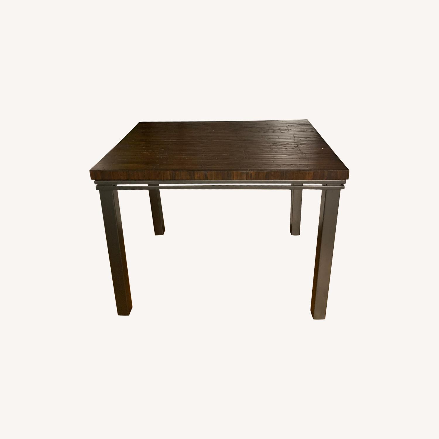 Dark wood century table