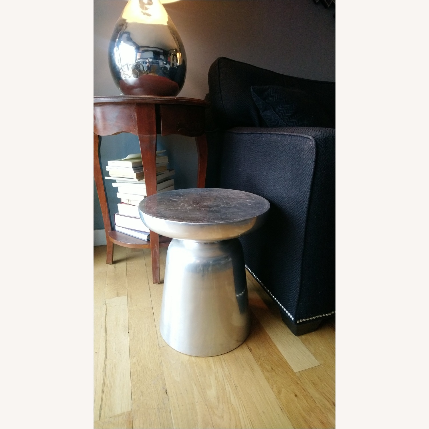 Aluminum Mushroom Side Tables
