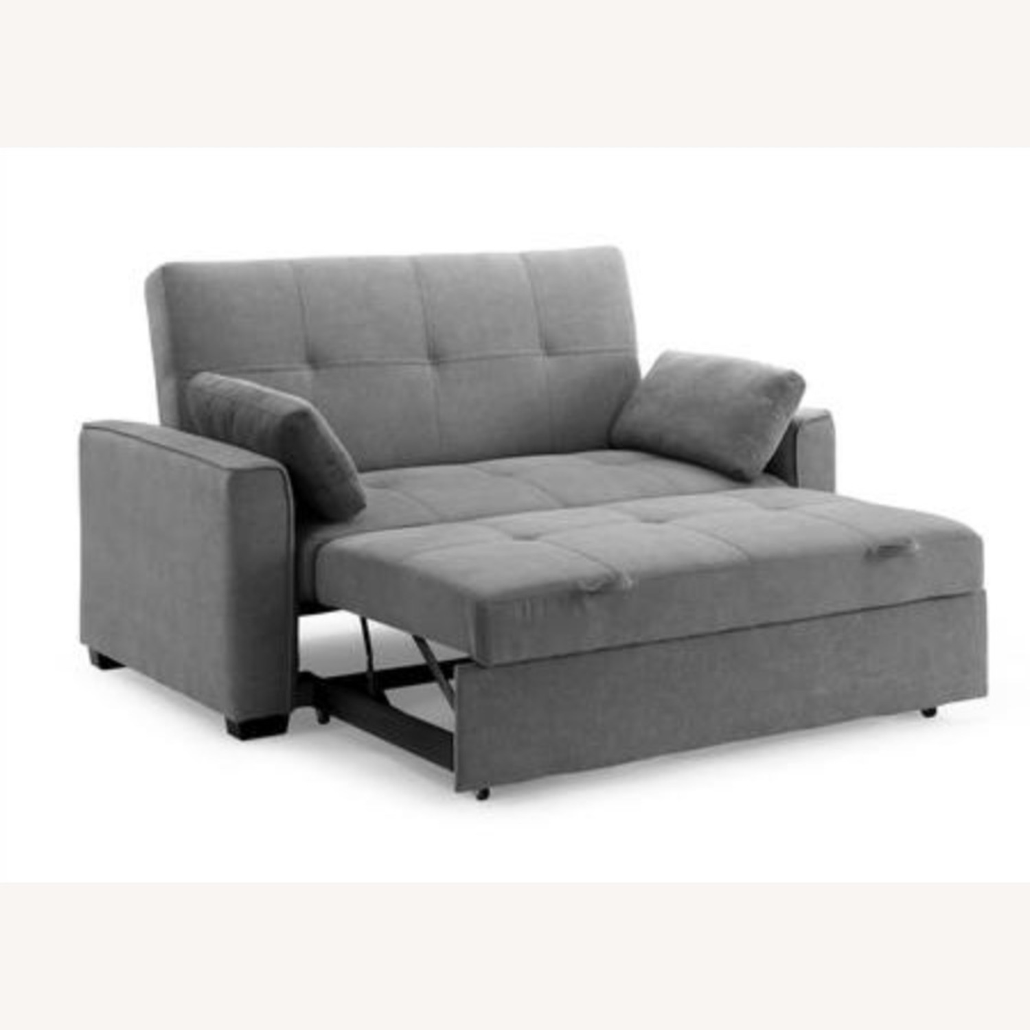 Light Grey Super Comfortable Sleeper Sofa - image-2