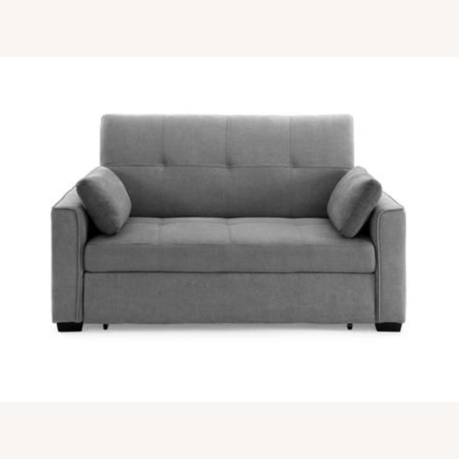 Light Grey Super Comfortable Sleeper Sofa - image-1