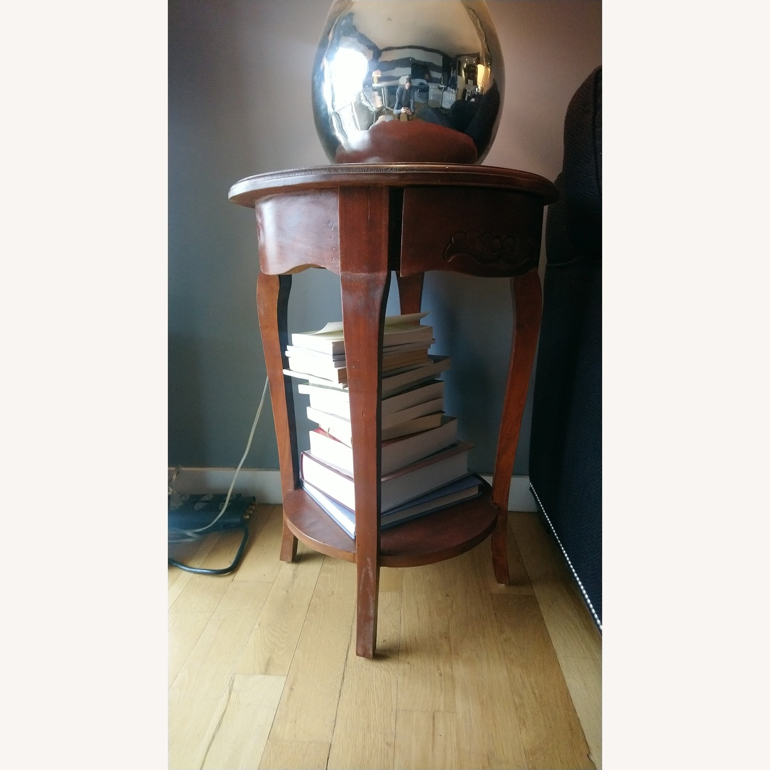 Classic Wood Side Table