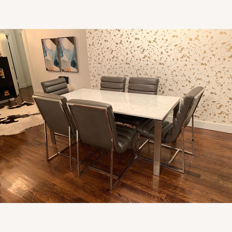Diamond Sofa Bardot Leather Dining Chairs - image-7