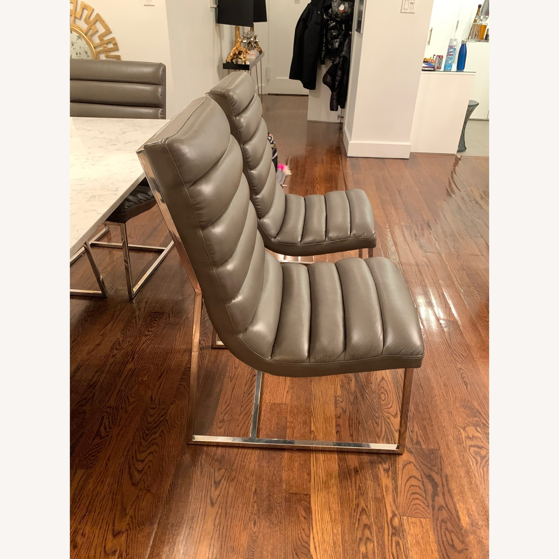 Diamond Sofa Bardot Leather Dining Chairs - image-6