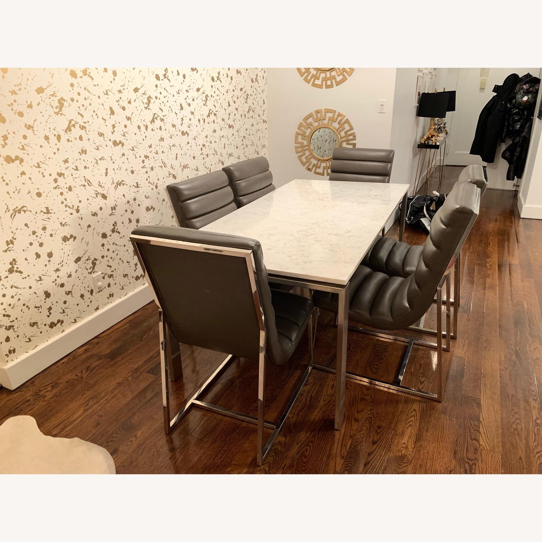 Diamond Sofa Bardot Leather Dining Chairs - image-4