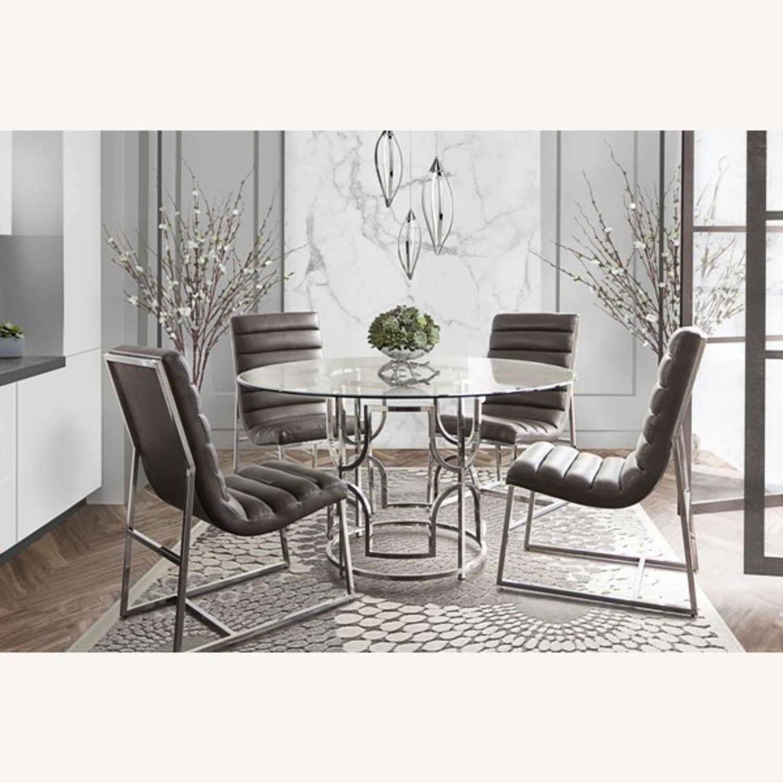 Diamond Sofa Bardot Leather Dining Chairs