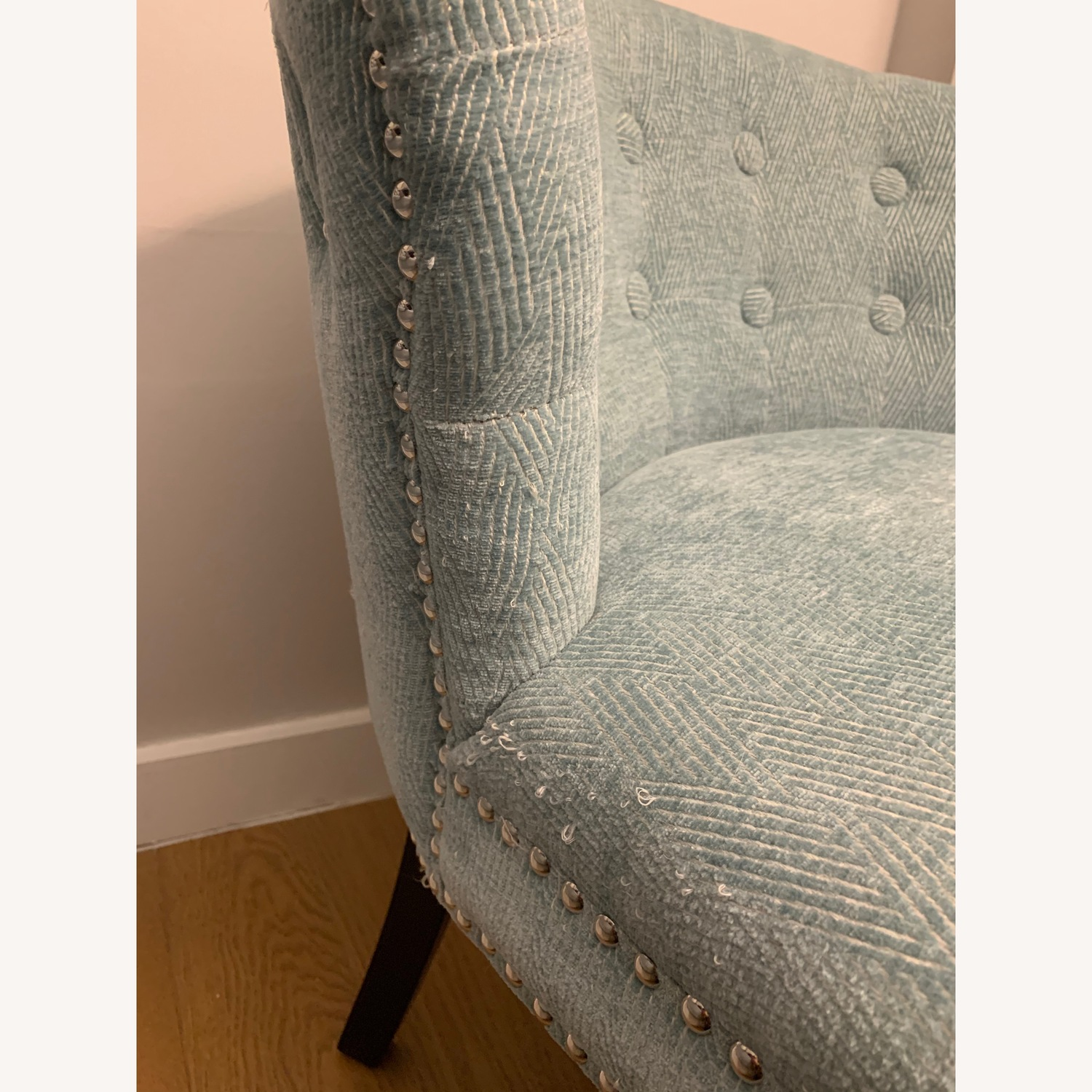 Set of Two Studded Accent Chairs - image-8