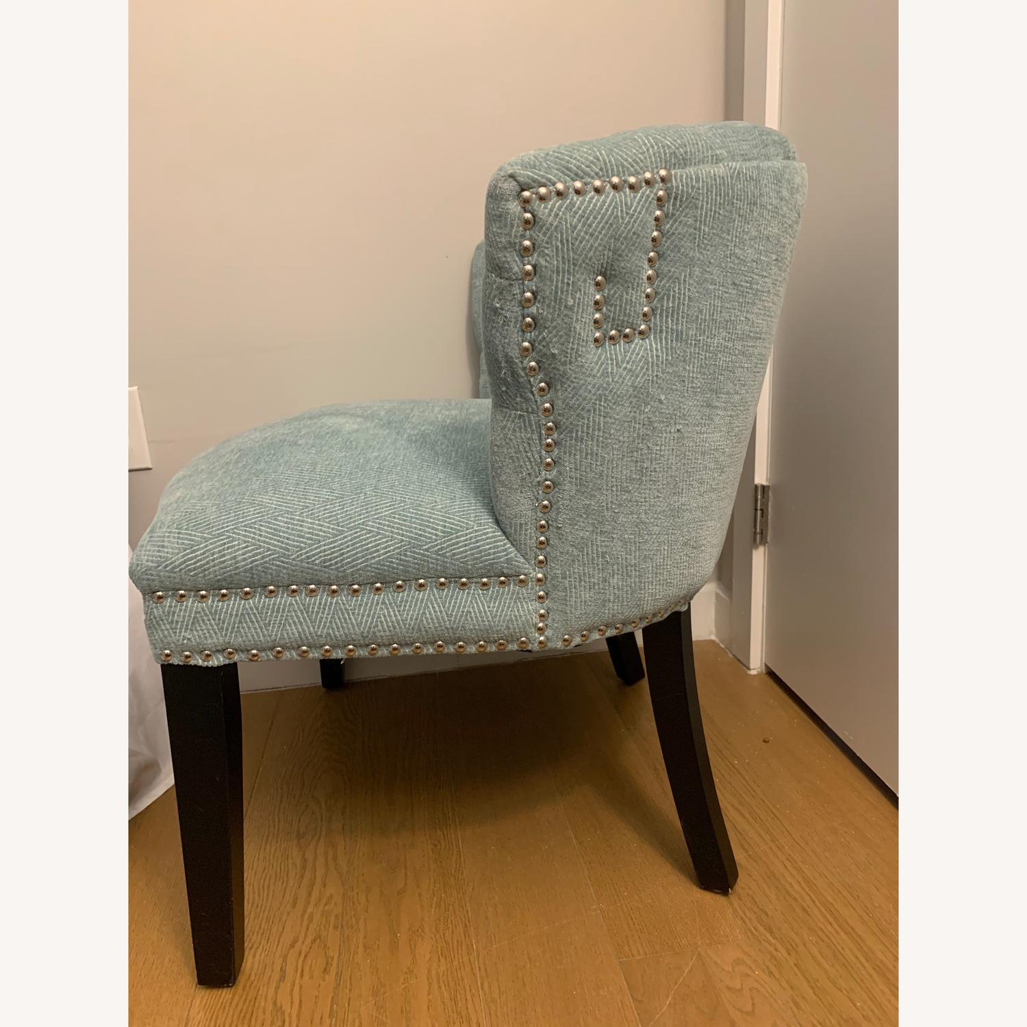 Set of Two Studded Accent Chairs - image-4