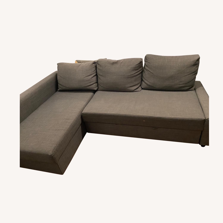 IKEA Friheten Sleep Sofa w/ Storage - image-0