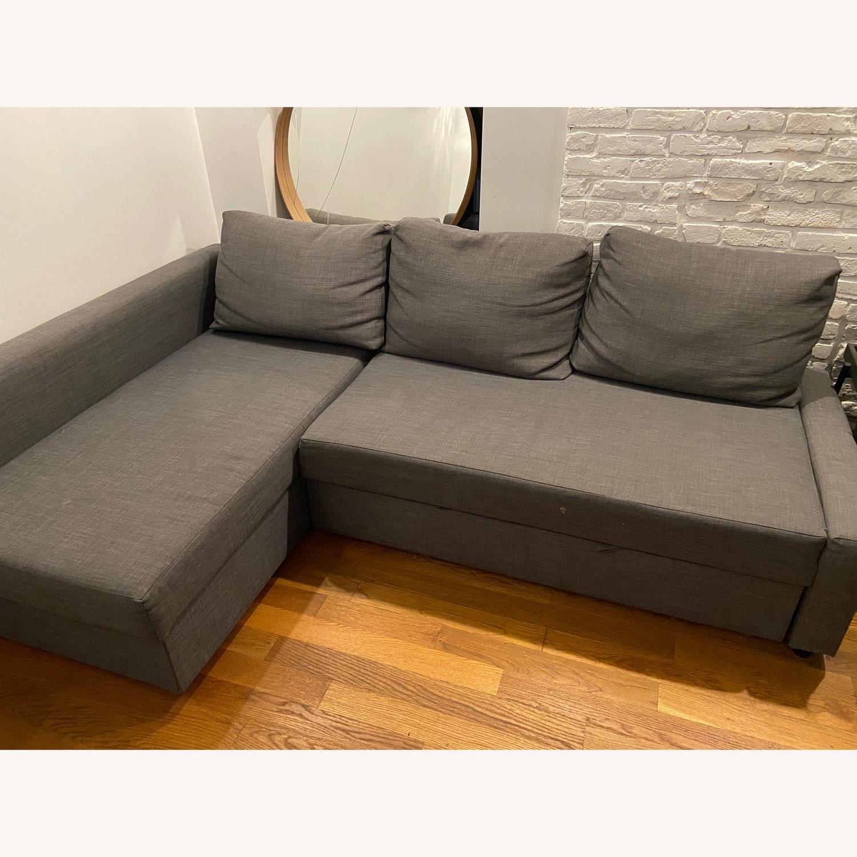 IKEA Friheten Sleep Sofa w/ Storage - image-1