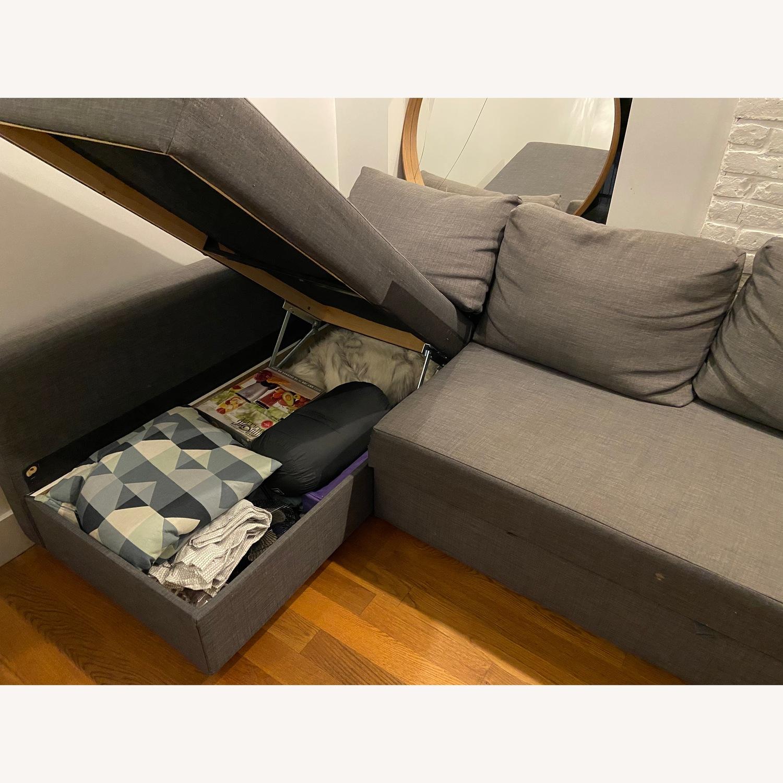 IKEA Friheten Sleep Sofa w/ Storage - image-3